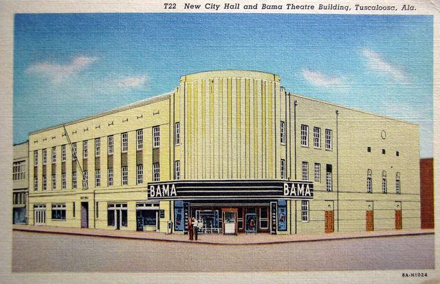 BAMA Theatre; Tuscaloosa, Alabama.