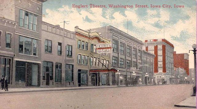 ENGLERT Theatre; Iowa City, Iowa.