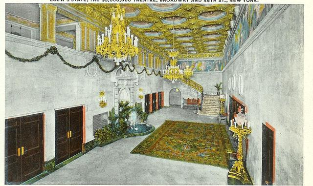 NYS Loew's State 45th Street Foyer