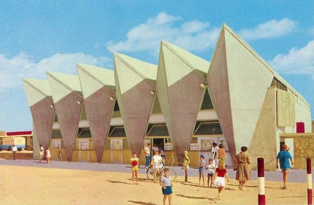 Oroth Hanegev vintage postcard