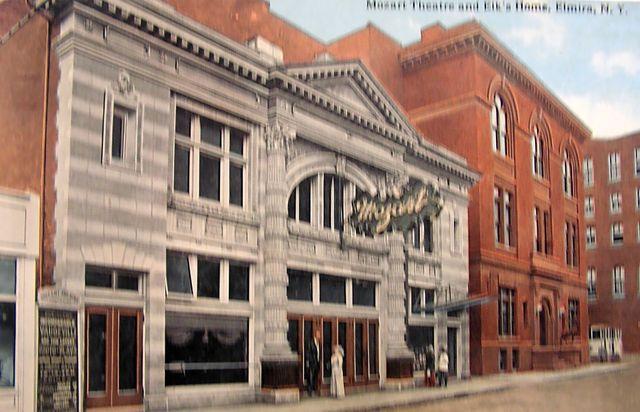MOZART Theatre; Elmira, New York.