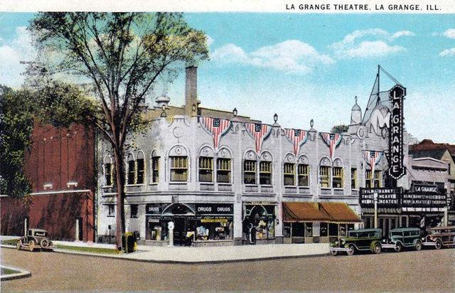 La GRANGE Theatre; La Grange, Illinois.