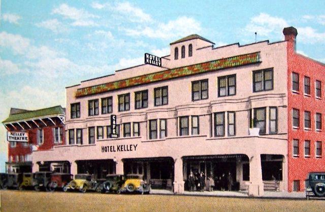 KELLEY Theatre; Iola, Kansas.