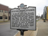 Historic marker outside of Soulsville USA