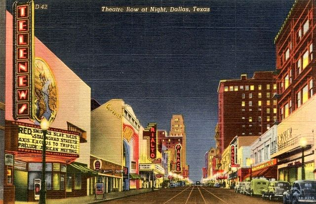 TELENEWS Theatre; Dallas, Texas.