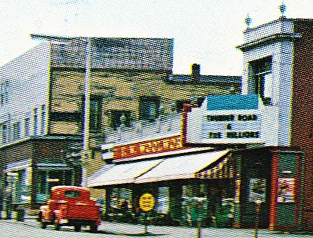 BURNS Theatre; Newport, Vermont.