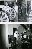 Projection room Falls Theatre