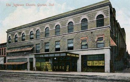 JEFFERSON (GOSHEN) Theatre; Goshen, Indiana.