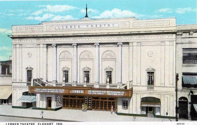 LERNER Theatre; Elkhart, Indiana.