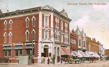 DAVIDSON Theatre; Fort Scott, Kansas.