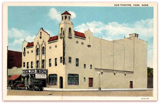 Sun Theatre...York Nebraska