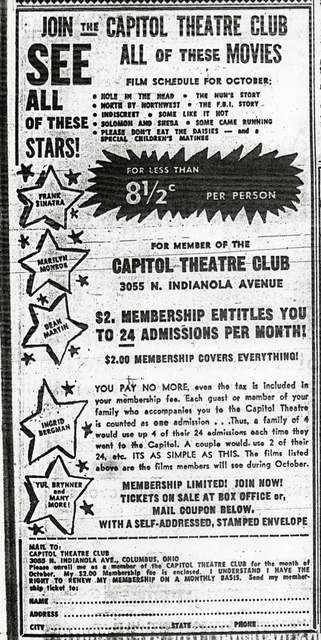 &quot;Capitol Theatre Club&quot;