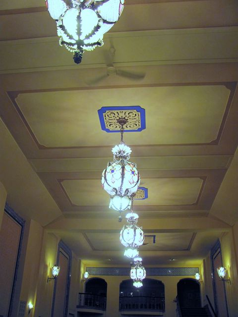 Lobby, GATEWAY (LAKE, RHODE) Theatre; Kenosha, Wisconsin.