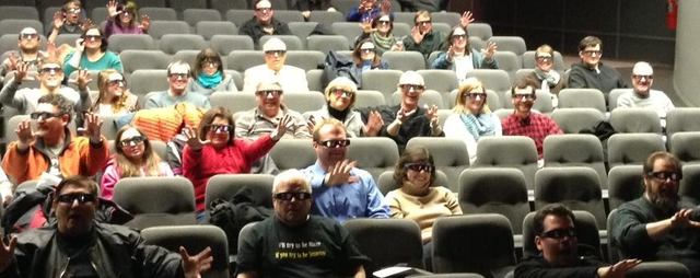 First 3D movie at the Wex