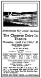 Chesnee Drive-In