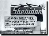 Sheridan Drive-In sign