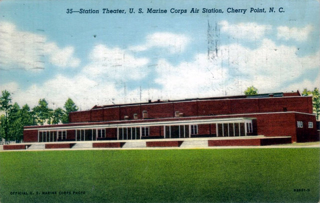 STATION Theatre; Marine Corps Air Station, Cherry Point, North Carolina.