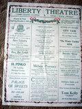 Poster, LIBERTY Theatre; Camp Grant, Illinois.