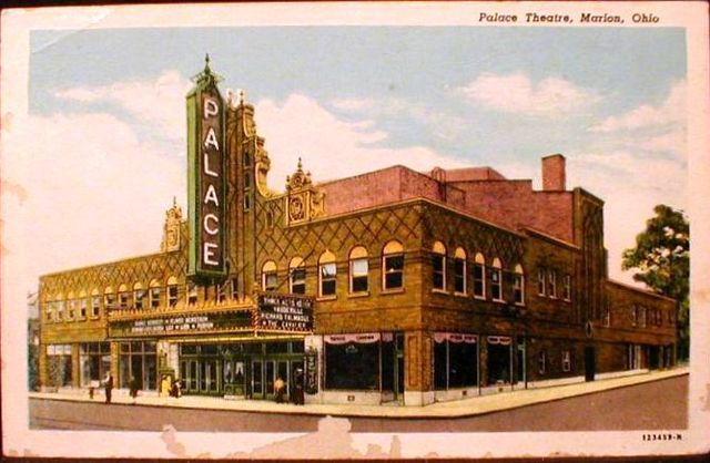 Postcard, PALACE Theatre; Marion, Ohio.