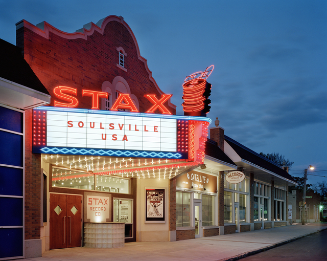 Entrance to Stax Museum of American Soul Music