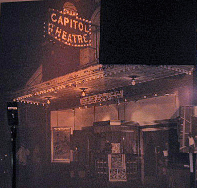 Entry to Capitol Theatre