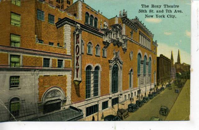 Vintage Postcard 1928