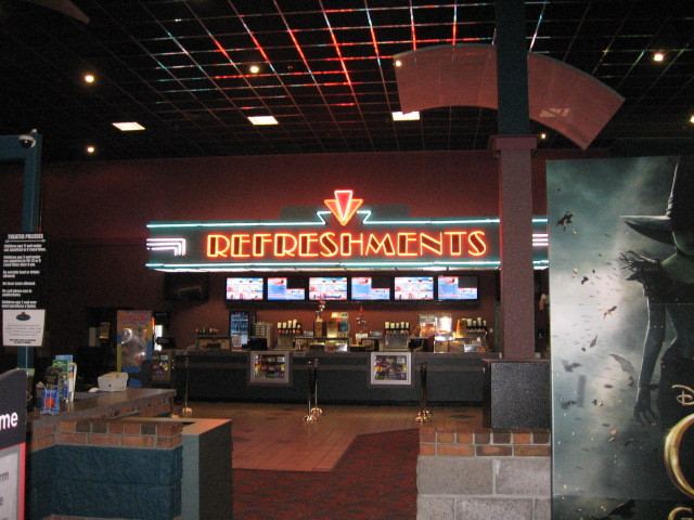 Stage Cinema concession