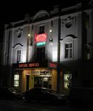 Palace Cinema & Bingo Hall at night