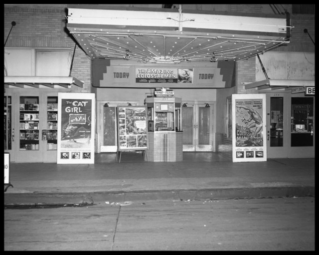 Majestic Theater in 1957