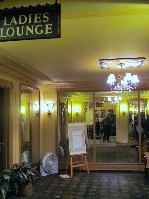 Ladies' lounge, GATEWAY (LAKE, RHODE) Theatre; Kenosha, Wisconsin.