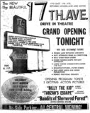 17th Ave. Drive In Opening