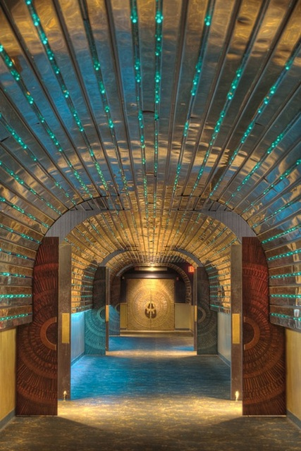 Chrome Hallway