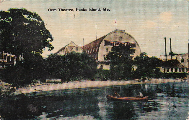 GEM Theater; Peaks Island, Maine.