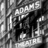 The Adams Theater sign
