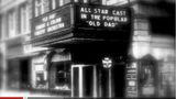 Adams Theater entrance and marquee