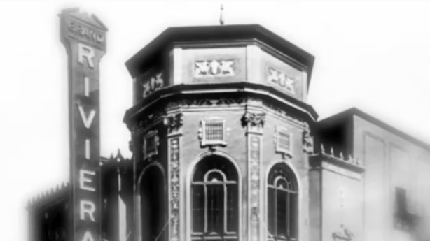 Grand Riviera Theater marquee