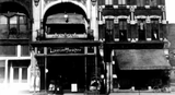 Lyceum Theater entrance and marquee.