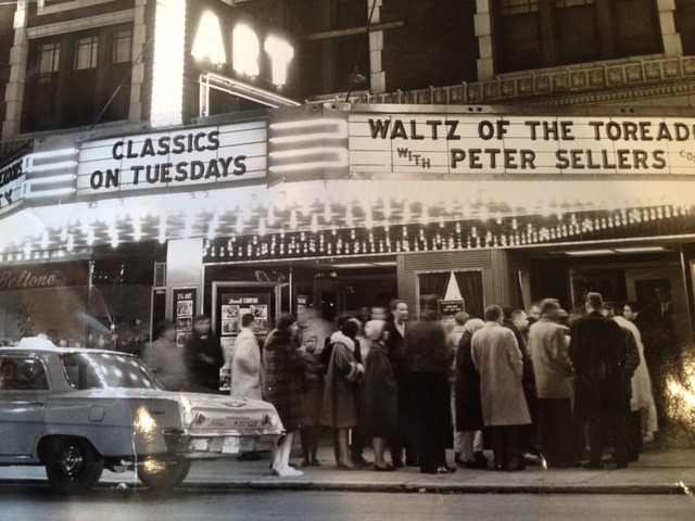 Art theatre in the 1960's