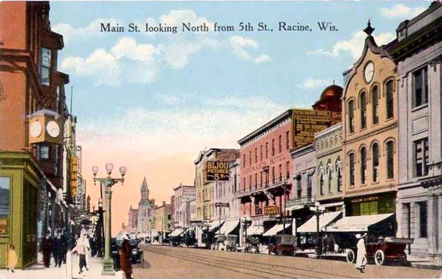 BIJOU Theatre; Racine, Wisconsin.