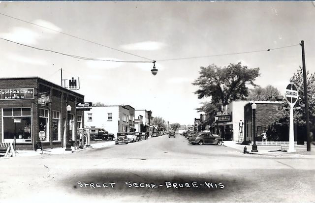 BRUCE Theatre; Bruce, Wisconsin.