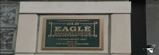 Eagle Theatre sign
