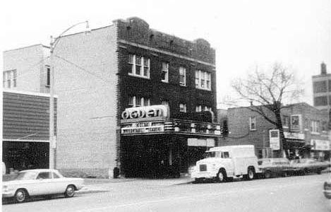 OGDEN Theatre; Milwaukee, Wisconsin.