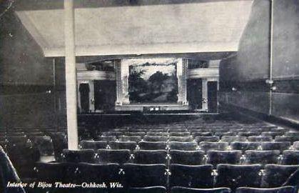 BIJOU Theatre; Oshkosh, Wisconsin.