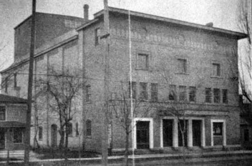 APPLETON Theatre; Appleton, Wisconsin. (1903)