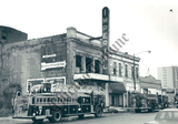 Imperial Theater after a fire 1991