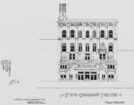 STATE-CONGRESS (FOLLY) Theatre; Chicago, Illinois.