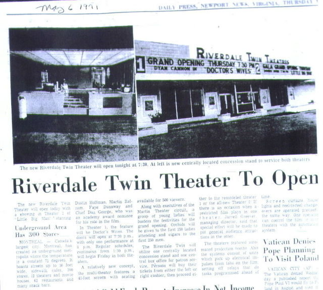 Regal Riverdale Cinema 3