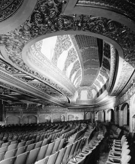 Abandoned GRANADA Theatre; Chicago, Illinois.