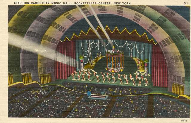 Interior Radio City Music Hall
