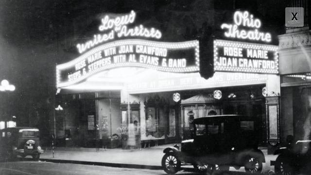 Ohio Theatre at Night
